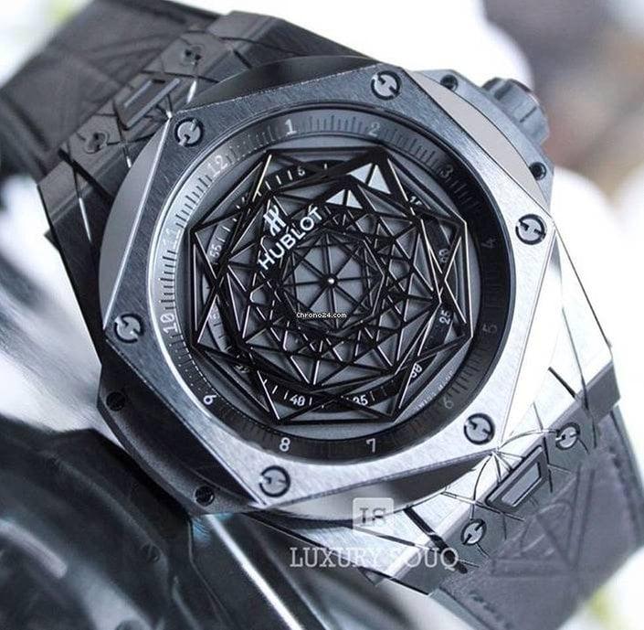 Hublot Big Bang Sang Bleu Black Ceramic for $20,000 for ...