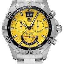 TAG Heuer Aquaracer Quartz Chronograph Yellow Dial