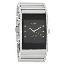 Rado Integral Mens Diamond Platinum Ceramic Watch R20757752