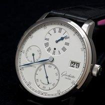 Glashütte Original Senator Chronometer Regulator Weißgold 42mm Weiß Römisch