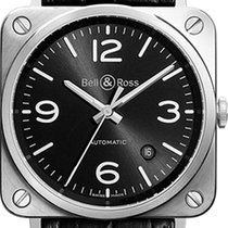Bell & Ross BR S Black Dial  (LIKE NEW ) DISPLAY PIECE