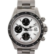Tudor Oyster Date Chrono Big Block Porcelain Dial 40mm In...