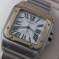 Cartier Santos 100 XL Steel/Gold
