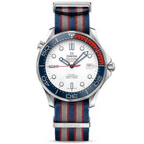 Omega Seamaster Diver 300 M nieuw 41mm Staal