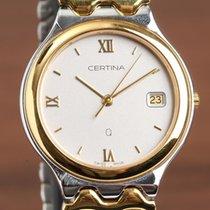 Certina Gold/Steel 33mm Quartz 113.1056.44 new
