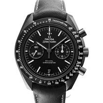 Omega Céramique Remontage automatique Noir 44.25mm nouveau Speedmaster Professional Moonwatch