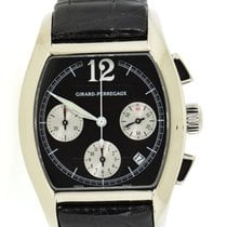 Girard Perregaux Richeville White gold 37mm Black United States of America, New York, New York