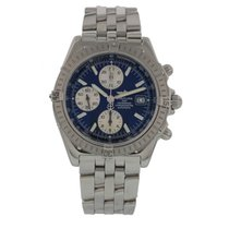Breitling Windrider Crosswind A13355 W/ Box And Papers