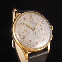 Chronographe Suisse Cie ITA 18K Gold Chronograph