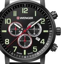 Wenger Steel 44mm Quartz 01.1543.104 new