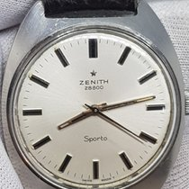 Zenith Acier 36mm Remontage manuel Zenith 01.0970.125 occasion
