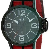 Armani Exchange Fabric Chronograph Mens Watch