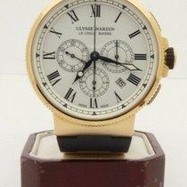 Ulysse Nardin Marine Chronograph pre-owned 43mm Rose gold