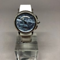 Breguet Chronograph 34.6mm Automatic new Marine Mother of pearl