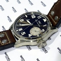 IWC White gold Automatic Brown 46mm new Big Pilot