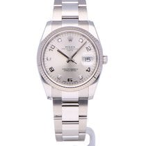 Rolex Oyster Perpetual Date Staal 34mm Zilver Nederland, The Netherlands
