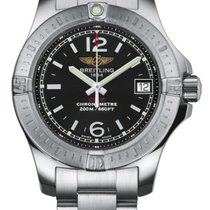 Breitling Colt Lady Steel 33mm Black United States of America, New York, New York