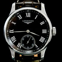 Longines Master Collection Steel 47mm Black Roman numerals