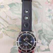 Breitling Superocean Héritage 42 Staal Zwart Geen cijfers