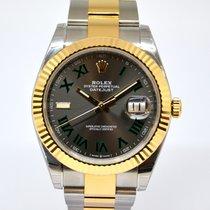 Rolex Datejust nuevo 2019 Automático Reloj con estuche y documentos originales 126333