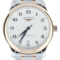 Longines Master Collection Gold/Steel 38.5mm White United States of America, Illinois, BUFFALO GROVE