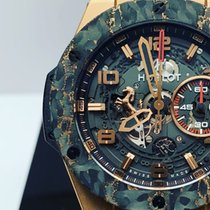 Hublot Big Bang Ferrari Rose gold 45mm Transparent Arabic numerals