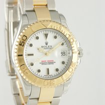 Rolex Yacht-Master Gold/Steel 35mm White