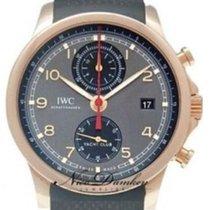 IWC Portuguese Yacht Club Chronograph nouveau 2020 Remontage automatique Chronographe Montre avec coffret d'origine et papiers d'origine IW390505