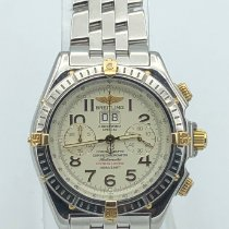 Breitling Crosswind Special Gold/Steel 44mm White Arabic numerals