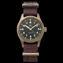 IWC Bronze Automatic Green Arabic numerals 36mm new Pilot's Watch Automatic 36