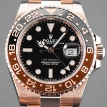 Rolex 126715CHNR Pозовое золото 2019 GMT-Master II 40mm новые