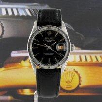 Rolex Oyster Perpetual Date Acciaio 34mm Nero