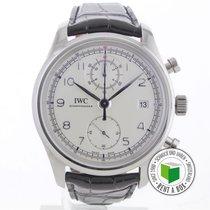 IWC Portuguese Chronograph Сталь 42mm Aрабские