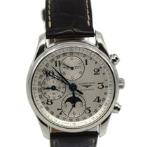 Longines Master Collection Steel 42mm Silver Arabic numerals United States of America, New York, New York