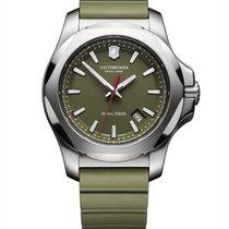 Victorinox Swiss Army I.N.O.X. Stal 43mm Zielony Bez cyfr