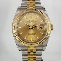 Rolex Datejust Or/Acier 36mm Champagne France, Paris