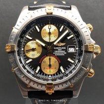Breitling Crosswind Racing Zlato/Ocel 43mm Černá Římské