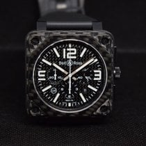 Bell & Ross Carbon Black pre-owned BR 01-94 Chronographe