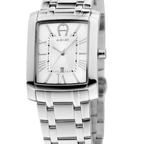 Aigner Steel 41mm Quartz A52105 new