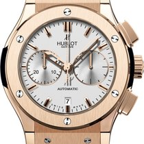 Hublot Classic Fusion Chronograph Roségold 45mm Silber
