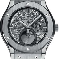 Hublot Men's Classic Fusion Aerofusion Moonphase Watch
