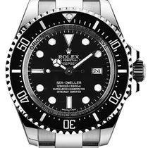 Rolex Sea Dweller Deepsea Black Index Dial 116660