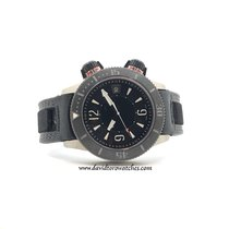 Jaeger-LeCoultre Master Compressor Diving Alarm Navy SEALs Titanium 44mm Black