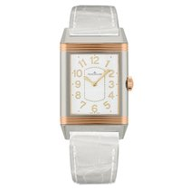 Jaeger-LeCoultre Grande Reverso Lady Ultra Thin Or/Acier 40mm Argent