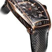 Cvstos Challenge Jet-Liner Carbon Men's Watch, Bicolor Red...