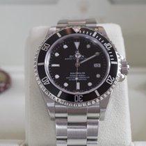 Rolex Sea-Dweller 16600, Garantie, Box und Papiere, LC100