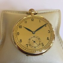 ELKA open face gold  pocket watch