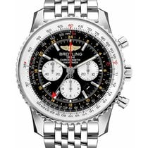 Breitling AB044121/BD24/443A Navitimer GMT Chronograph 48mm in...