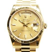 勞力士 (Rolex) Day-date 18 K Yellow Gold Gold Automatic 118238CH