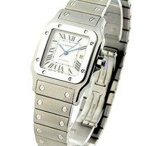 Cartier W20055D6 Santos Galbee in Steel - on Steel Bracelet...